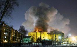 Suben a 64 las víctimas mortales por incendio en centro comercial de Siberia