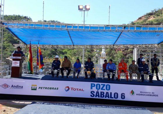 YPFB incrementa producción de gas natural del pozo SBL-6 en campo Sábalo