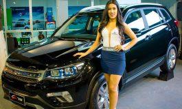 Changan en la Feicobol presentó su gama completa de SUV