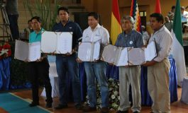 Gobierno y productores cañeros de Bermejo firman memorándum para producir etanol