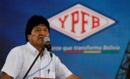 Presidente Evo promulga leyes para la exploración en las áreas San Telmo Norte y Astillero