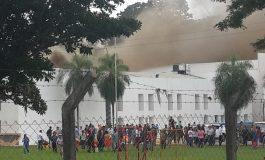 incendio en estudios de Unitel Santa Cruz