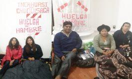 Cinco diputados ingresan al 4to día de huelga por límites