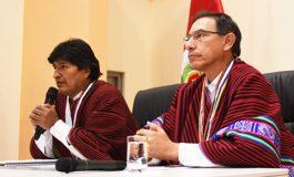 Evo plantea Ilo para exportar GNL y Vizcarra se lo ofrece