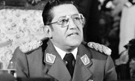 Campero revela que Luis García Meza dejó dos cartas a su familia y al país