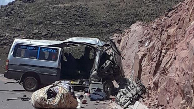 Accidente deja 13 personas fallecidas en norte Potosí