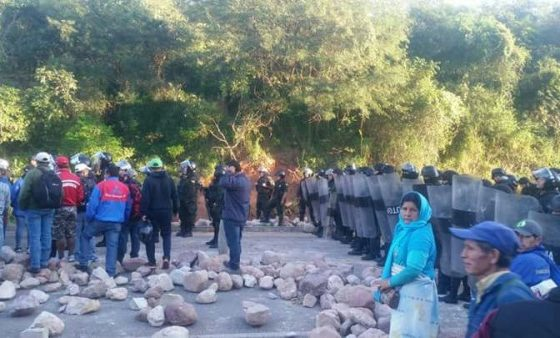 Levantan el bloqueo en Machareti