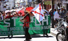 Chuquisaca permanece cercada y alista caravana hacia Incahuasi