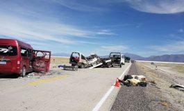 Policía confirma 6 fallecidos en accidente en tramo Pisiga-Oruro y niega uso de armas
