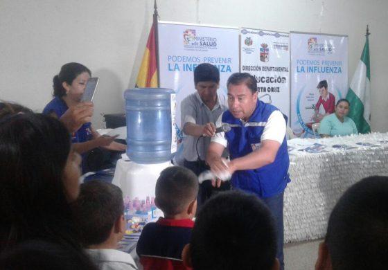 Ministerio de Salud: el lavado de manos también previene la Influenza