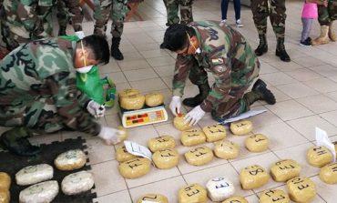 Incineran 84 kilos de cocaína hallada en Alto Madidi