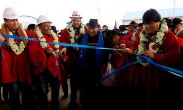 YPFB inaugura surtidor en Achacachi para comercializar gasolina, diésel y GNV