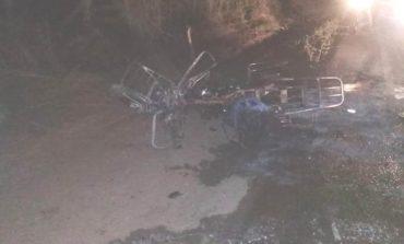 Fallece motociclista tras incendiarse luego de una colisión en Villa Montes