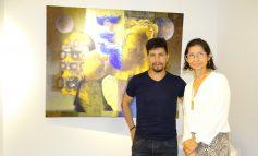 La galería de arte de Los Tajibos exhibe las 'Pinturas' de Fabricio Lara