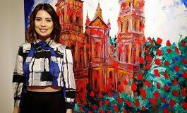 'Amarte arte', la primera muestra individual de Karin Urenda se realiza en Los Tajibos
