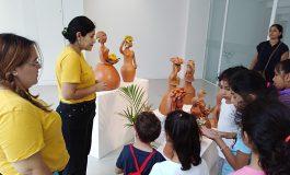 Exitoso taller de cerámica para niños en el  Museo Municipal de la Ciudad Altillo Beni