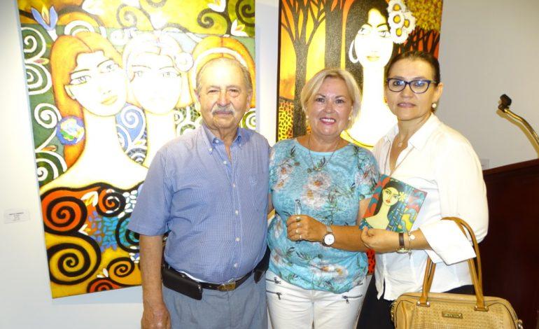 El arte de Fernando Antezana y Mirta Cwirko se exhibe en Los Tajibos Hotel