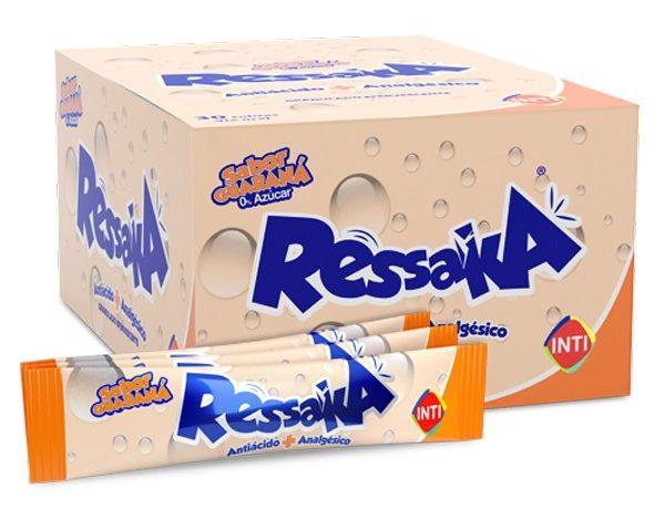 Ressaka, el analgésico antiácido creado por Inti