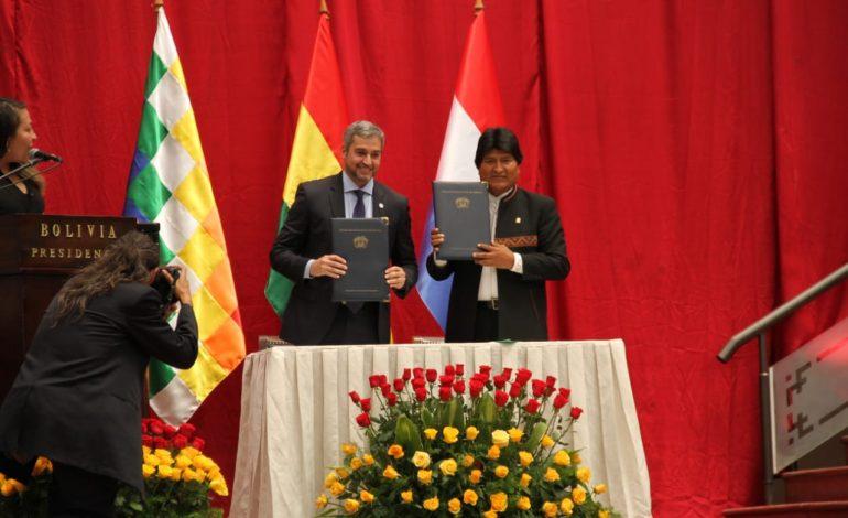 Bolivia y Paraguay firman contrato comercial de compra venta de GLP