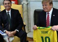 Bolsonaro defiende su admiración por Trump, pero rechaza aportar soldados para Venezuela