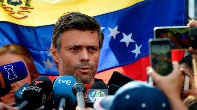 Crisis en Venezuela: España limitará la actividad política de Leopoldo López en su embajada en Caracas