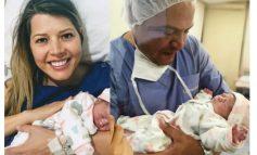 Nació la hija de Maricruz Ribera y Luis Revilla