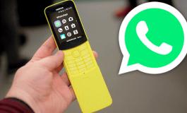 WhatsApp ahora está disponible para celulares sin pantalla táctil