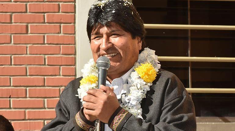 Morales dice que pedido de votos a cambio de obras era broma
