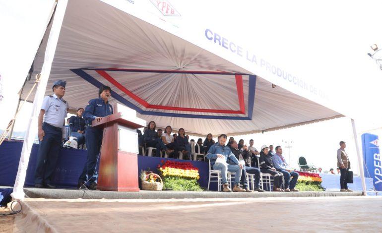 Planta Incahuasi incrementa su producción de gas natural a 11 millones de metros cúbicos por día