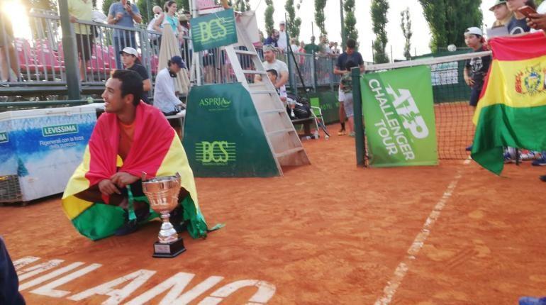 Dellien se corona campeón en Milán y va motivado a Wimbledon