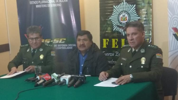 Gobierno admite transporte de droga en avionetas de Beni, pero no en grandes cantidades