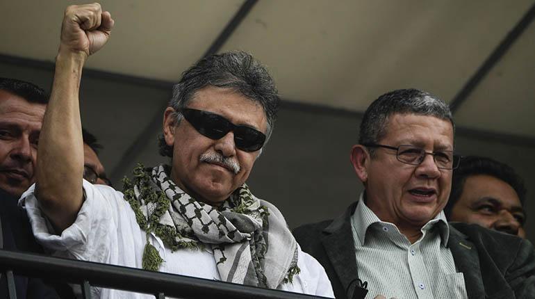 Dictan orden de captura contra líder de FARC por narcotráfico