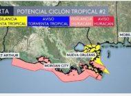 Trump declara estado de emergencia en Nueva Orleans por tormenta tropical
