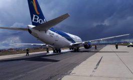 Avión de BoA sobrevoló 4 horas Santa Cruz para quemar combustible