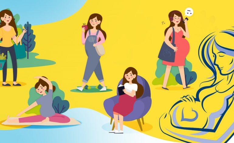 Cinco simples pasos para tratar los cambios durante el embarazo