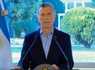 Macri pide perdón y anuncia medidas de alivio económico
