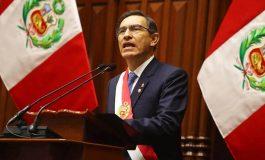 """Vizcarra disuelve """"constitucionalmente"""" a Congreso peruano y llama a comicios"""