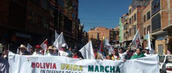 Conade marchará mañana por la declaratoria de desastre nacional por la Chiquitania