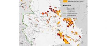 FAN: Superficie quemada supera las 3 millones de hectáreas en Santa Cruz