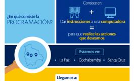 """Tigo fomenta la alfabetización digital con el proyecto """"Enseñanza en Programación"""""""