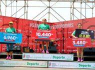 Las calles y avenidas de Santa Cruz se matizaron de verde con su maratón