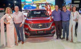 La nueva Chevrolet Captiva se roba las miradas en la Expocruz