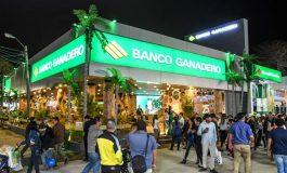Banco Ganadero inauguró su stand inspirado en un concepto ecológico