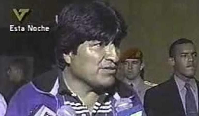 "En octubre de 2003, Evo propuso ""Mesa presidente"" para salvar al país"