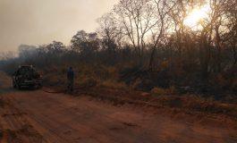 Lluvias apagan los incendios en la Chiquitania