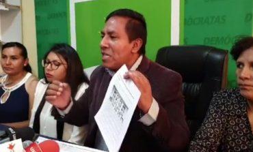 Asambleístas Demócratas en Cochabamba se desmarcan de Ortiz y piden votar por Mesa