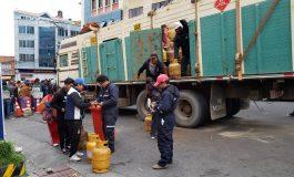 YPFB despacha 1,8 millones de litros de combustibles y 10 mil garrafas de GLP