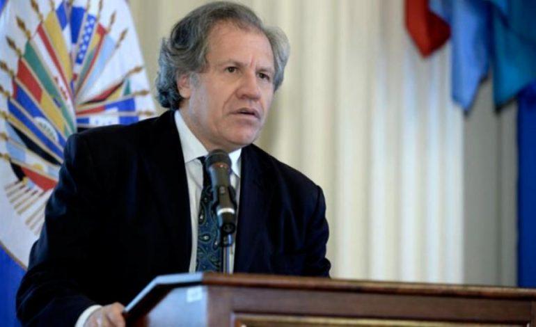 Almagro: «Evo quería renunciar, él quedó muy golpeado con el resultado electoral»