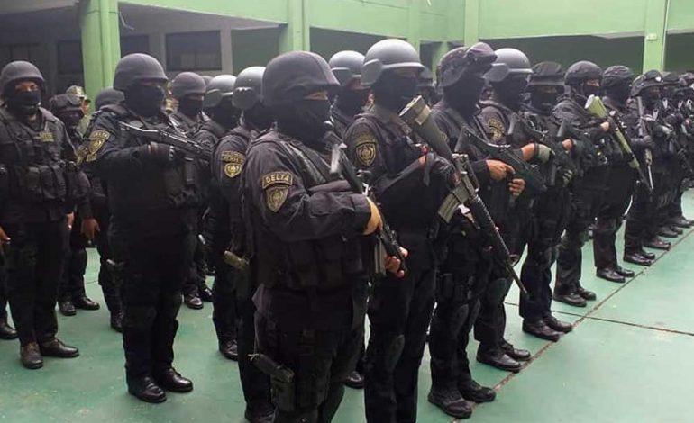 Policía presenta unidad especial para combatir el terrorismo