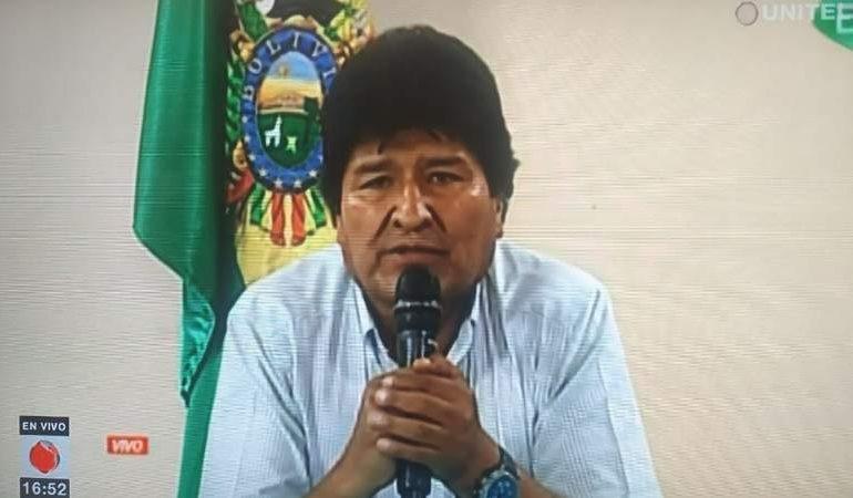 Renuncia Evo Morales
